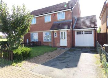 Thumbnail 3 bed semi-detached house for sale in Voyce Way, Bedford, Bedfordshire