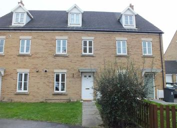 Thumbnail 3 bedroom town house for sale in Hackney Way, Westbury, Wiltshire