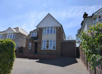 Thumbnail 4 bed detached house for sale in Felixstowe Road, Ipswich
