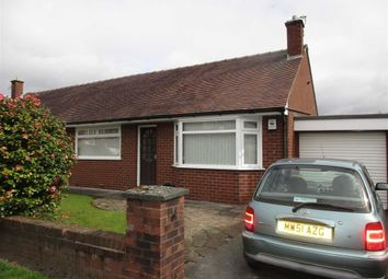 Thumbnail 2 bed semi-detached bungalow for sale in Meynell Drive, Leigh, Lancashire
