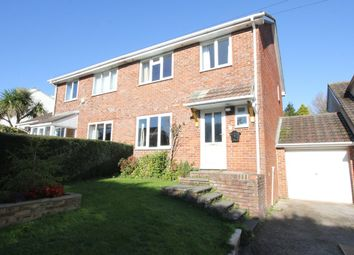 Thumbnail 3 bed semi-detached house for sale in Burleigh Road, Torquay