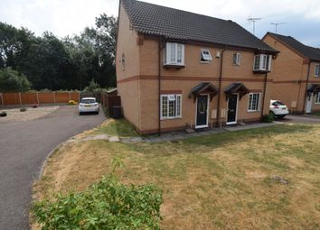 Thumbnail 3 bedroom semi-detached house for sale in Woodborough Road, Evington, Leicester