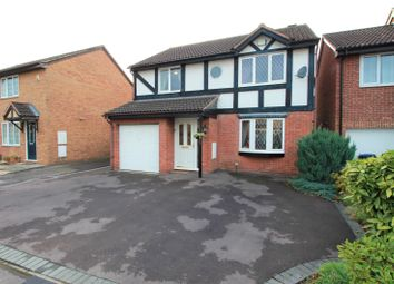 Thumbnail 4 bed detached house for sale in Mary Rose Avenue, Churchdown, Gloucester