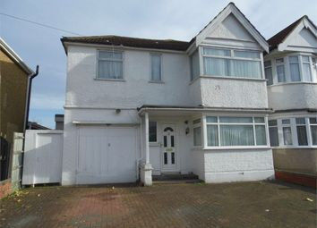 Thumbnail 4 bed end terrace house to rent in Spinnells Road, Harrow, Greater London