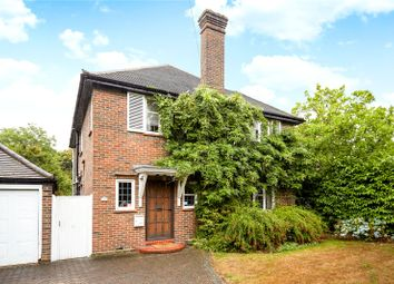 Thumbnail 4 bed detached house for sale in Hare Lane, Claygate, Esher, Surrey