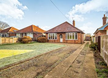 Thumbnail 2 bed detached bungalow for sale in Manor Road, Newton St. Faith, Norwich