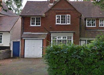 Thumbnail 4 bed semi-detached house to rent in Swanshurst Lane, Moseley, Birmingham