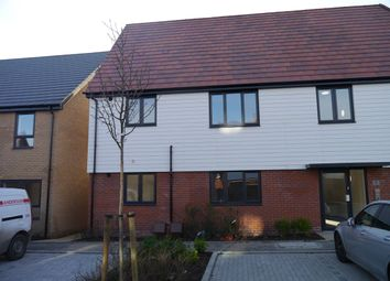 Thumbnail 1 bed flat to rent in 31 Mimas Way, Ipswich, Suffolk