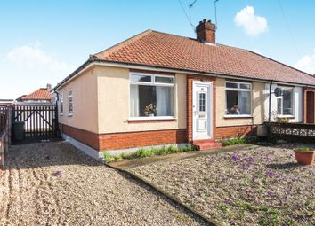 Thumbnail 3 bedroom semi-detached bungalow for sale in Allens Avenue, Sprowston, Norwich