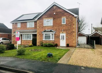 3 bed semi-detached house for sale in Horseshoe Close, Ruskington, Sleaford NG34
