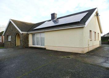 Thumbnail 5 bed detached bungalow for sale in Pembroke Road, Haverfordwest, Pembrokeshire