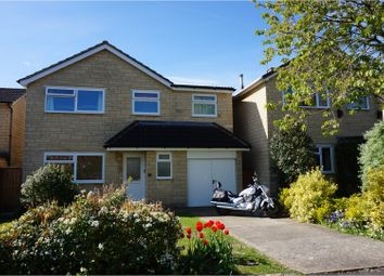 Thumbnail 4 bed detached house for sale in York Close, Chippenham