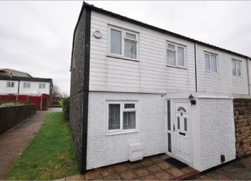 Thumbnail 3 bedroom end terrace house for sale in Limes Avenue, Chigwell, Essex