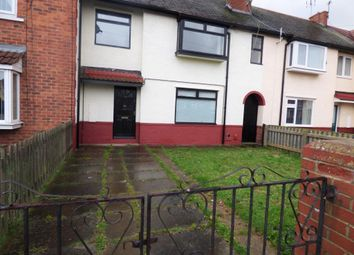 Thumbnail 2 bed terraced house to rent in Tennyson Avenue, Grangetown, Middlesbrough