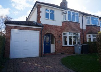 Thumbnail 3 bed semi-detached house for sale in Ravenswood Road, Wilmslow