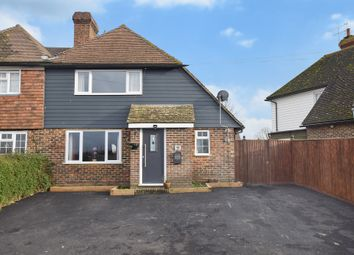 Thumbnail 3 bed semi-detached house for sale in Brattle, Off Front Road, Woodchurch, Kent