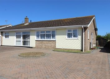 Thumbnail 2 bed semi-detached bungalow for sale in Marshall Crescent, Broadstairs