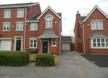 Thumbnail 3 bed semi-detached house to rent in Southside Road, Braunstone, Leicester