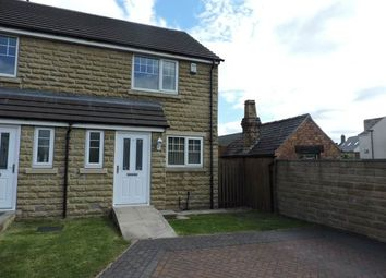 Thumbnail 2 bed town house to rent in Hallcroft Gardens, Elsecar, Barnsley