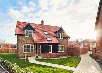 Thumbnail 4 bed detached house for sale in Orchard Gardens, Hemsby, Great Yarmouth