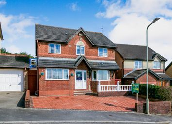 Thumbnail 4 bed detached house for sale in Llwyn Helig, Kenfig Hill, Bridgend
