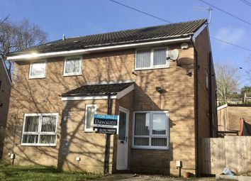Thumbnail 2 bedroom semi-detached house for sale in Denbigh Crescent, Ynysforgan, Swansea
