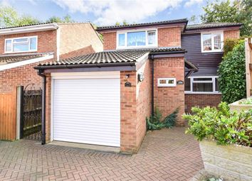 Thumbnail 4 bed detached house for sale in Hawthorns, Walderslade Woods, Chatham, Kent