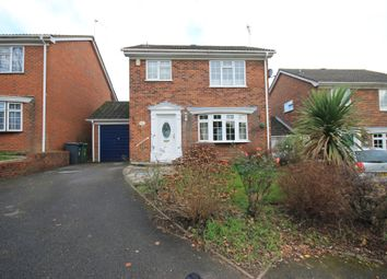 Thumbnail 3 bed detached house for sale in Glebe Close, Lightwater