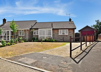 Thumbnail 1 bed semi-detached bungalow for sale in Pursley Close, Merrie Gardens, Lake, Isle Of Wight