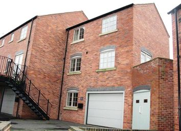 Thumbnail 3 bed town house to rent in Mill Yard, The Flour Mills, Burton On Trent