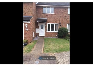 Thumbnail 2 bed terraced house to rent in Windermere Close, Bedford