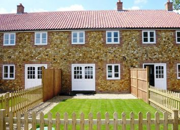 Thumbnail 3 bed terraced house to rent in Manor House Row, Wereham, King's Lynn