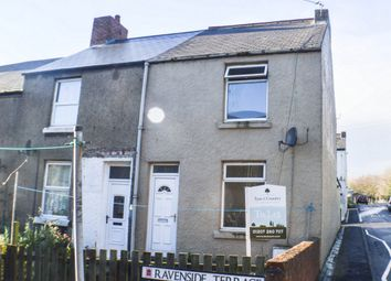 Thumbnail 2 bed end terrace house for sale in Ravenside Terrace, Chopwell