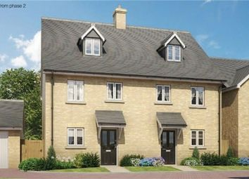Thumbnail 4 bed terraced house for sale in The Goshawk At Chiswell Place, New Cardington, Bedfordshire