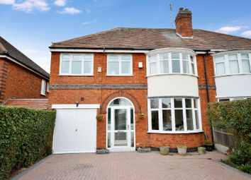 Thumbnail 4 bed semi-detached house for sale in Scraptoft Lane, Leicester, Leicestershire