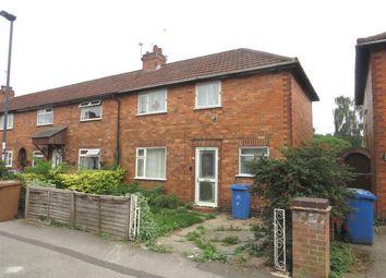 Thumbnail 2 bedroom semi-detached house for sale in Fife Street, Alvaston, Derby