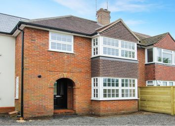 Thumbnail 3 bedroom terraced house for sale in Great George Street, Godalming