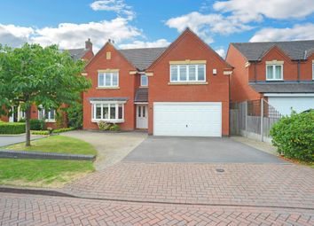 Thumbnail 4 bedroom detached house for sale in Guinea Crescent, Coventry