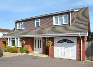 Thumbnail 4 bed detached house for sale in Roberts Close, Cullompton