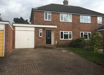 Thumbnail 3 bed semi-detached house to rent in Stirling Avenue, Leamington Spa