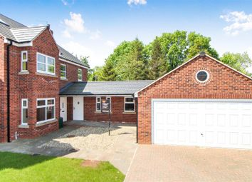 Thumbnail 4 bed detached house for sale in Williamsfield Road, Cranswick, Driffield