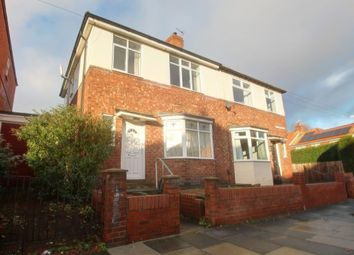 Thumbnail 2 bed semi-detached house for sale in Coleridge Avenue, Low Fell, Gateshead