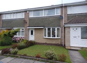 Thumbnail 3 bed terraced house for sale in Crookham Way, Cramlington