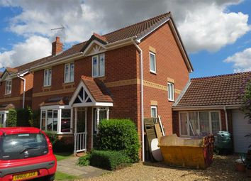 Thumbnail 4 bed detached house for sale in Gibson Close, Sleaford