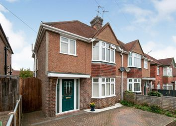 Thumbnail 3 bed semi-detached house for sale in St. Andrews Road, Bexhill-On-Sea
