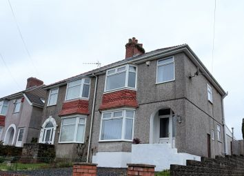 Thumbnail 3 bed semi-detached house for sale in Lon Coed Bran, Cockett