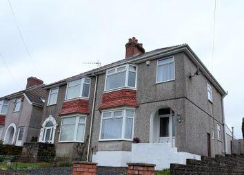 Thumbnail 3 bedroom semi-detached house for sale in Lon Coed Bran, Cockett