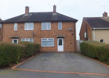 Thumbnail 3 bed semi-detached house to rent in Moordown Avenue, Solihull, Birmingham