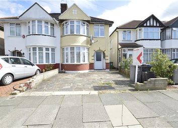 Thumbnail 3 bed semi-detached house for sale in Sandhurst Road, Kingsbury