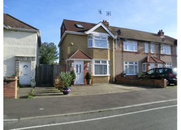 Thumbnail 3 bed end terrace house for sale in Denison Road, Feltham